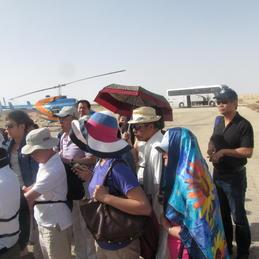 ליווי קבוצות מבקרים בארץ ישראל
