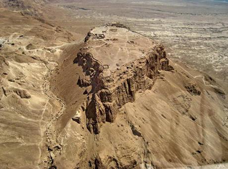 Lunch at the foot of Masada